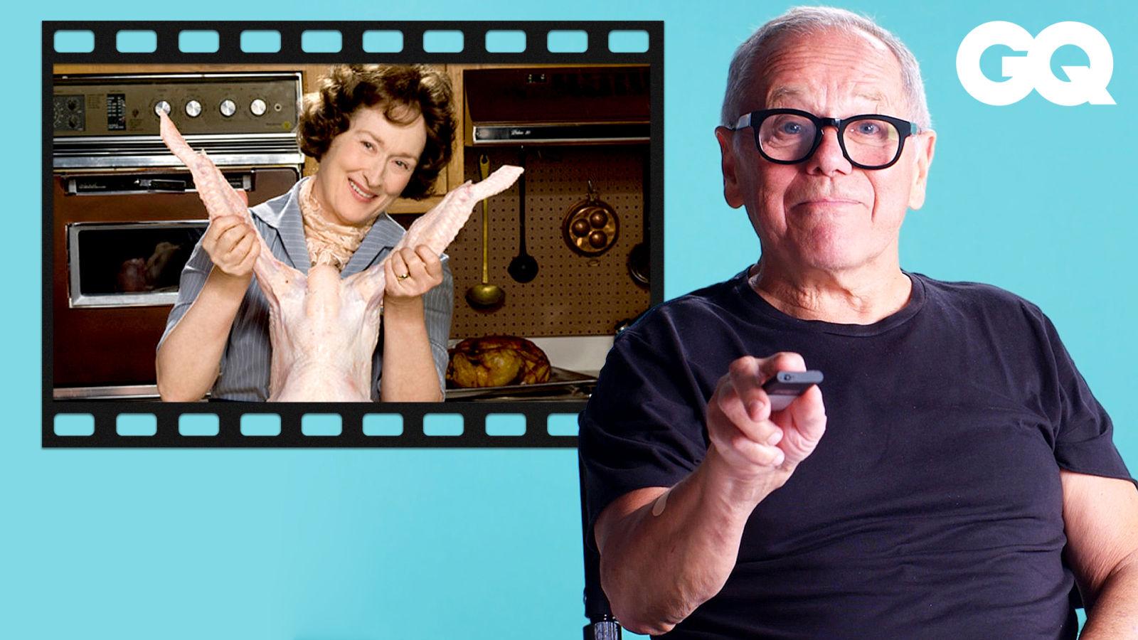 人人都可以是美食評論家?傳奇大廚好萊塢電影片段解析 Wolfgang Puck Breaks Down Restaurant Movies Scenes|經典電影大解密|GQ Taiwan