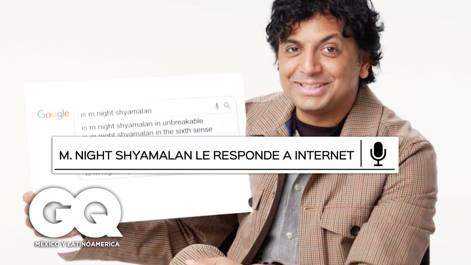 M. Night Shyamalan responde lo más buscado de Google