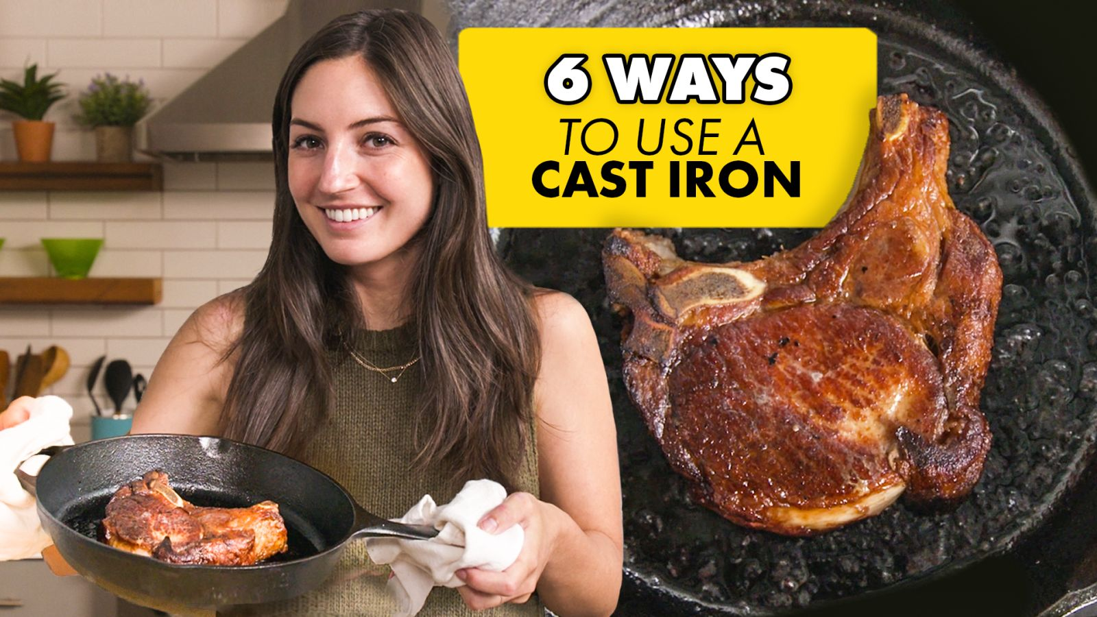 How to Use a Cast Iron Skillet (6 Methods)