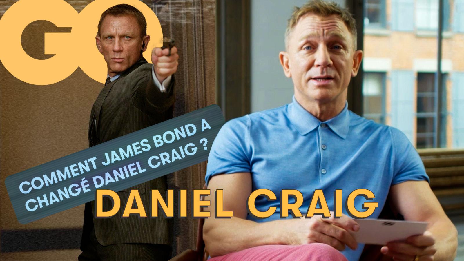 Daniel Craig nous raconte les coulisses de son rôle de James Bond 007