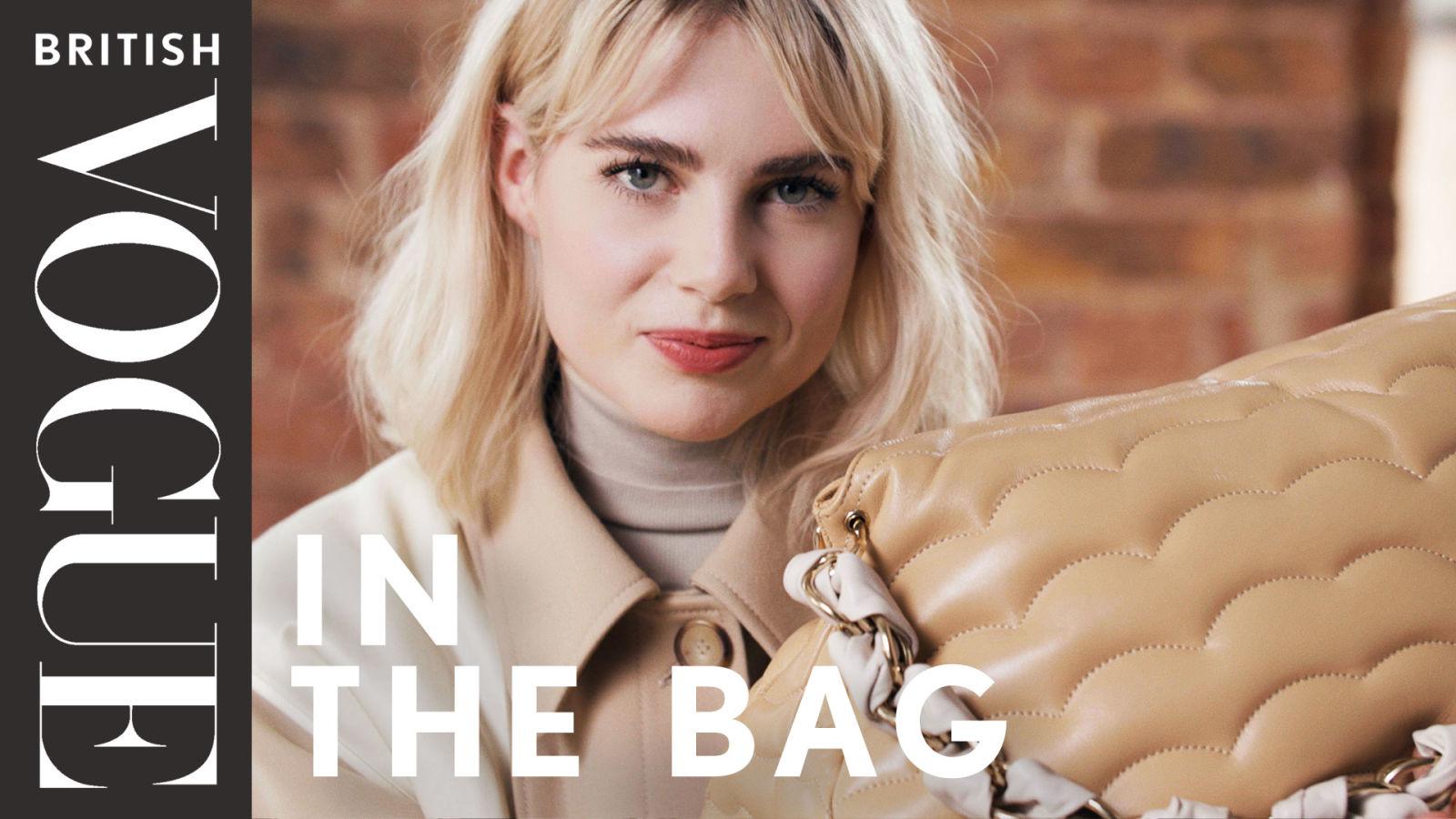 Lucy Boynton: In The Bag