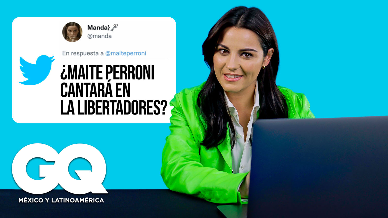 Maite Perroni entra de encubierta a Internet para contestar preguntas