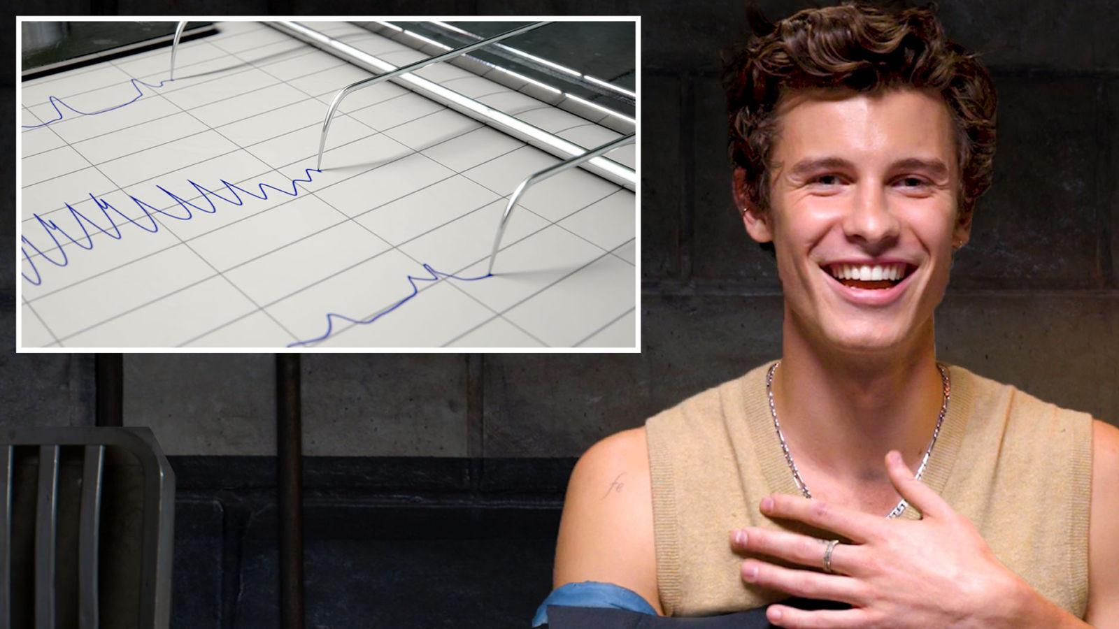 Shawn Mendes se enfrenta al detector de mentiras