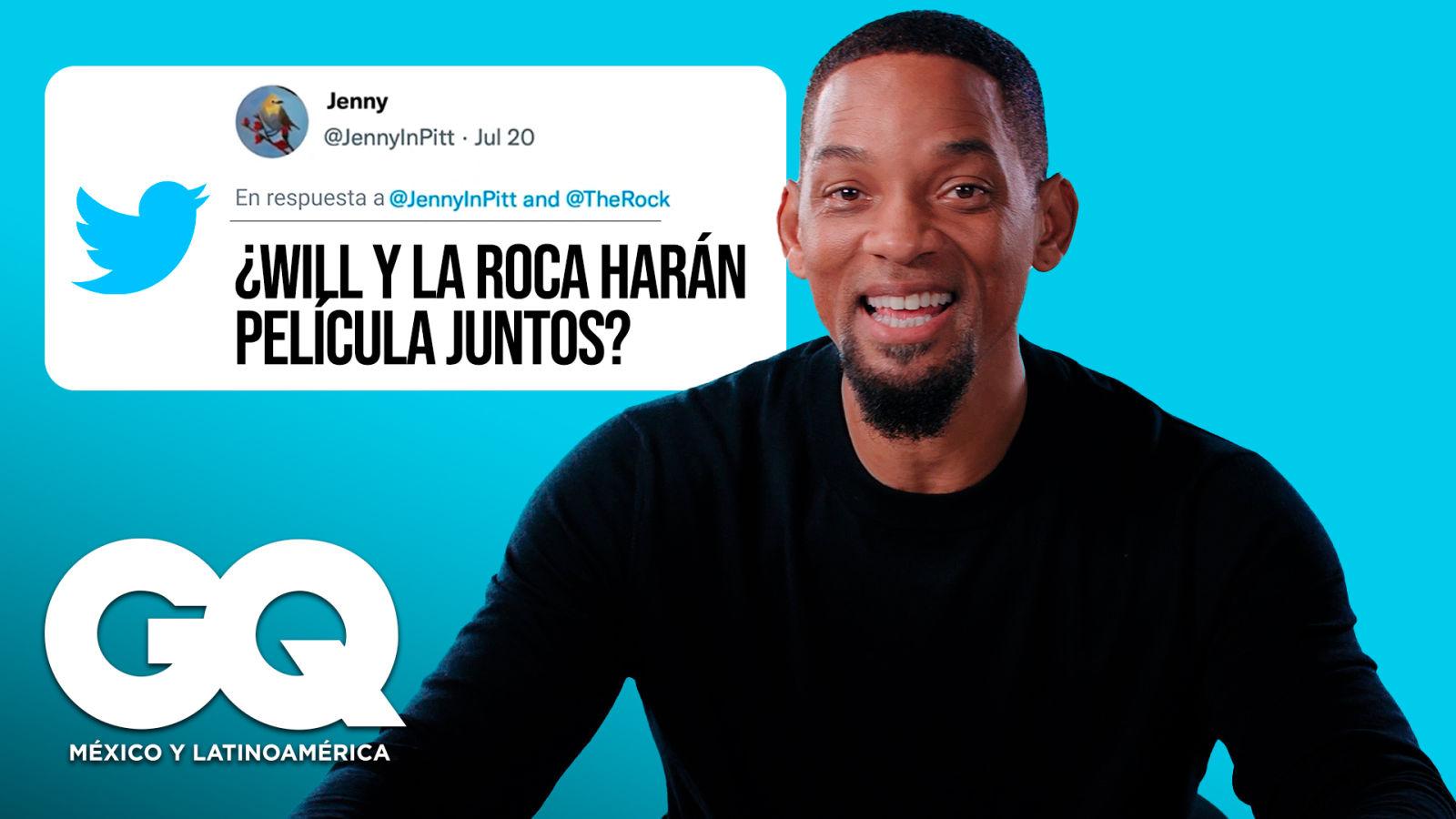 Will Smith entra de infiltrado a Internet para contestar algunas preguntas