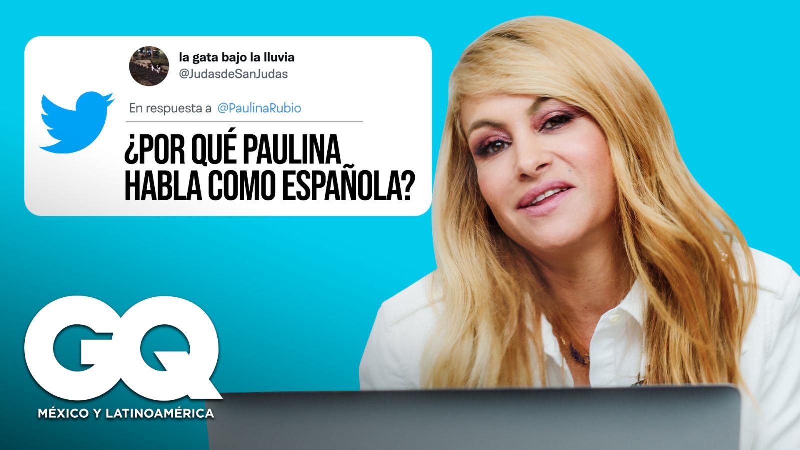 Paulina Rubio responde a sus fans directo en Internet