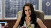 First Look: Suits' Meghan Markle Talks Closet Envy, Beauty Must-Haves, and More
