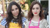 Best Friend Tag: Besties Lily Collins & Liana Watson
