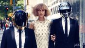 Behind the Scenes with Daft Punk and Karlie Kloss