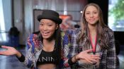 Keke Palmer and Jessica Play Word Association