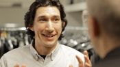 Adam Driver Meets His Man Crush at His GQ Cover Shoot
