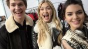 Watch What Happens When We Give Kendall Jenner and Gigi Hadid a Selfie Stick