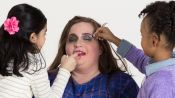 Aidy Bryant Gets Glammed Up By Kids For Her Valentine's Date Night