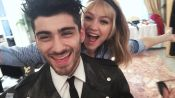 Gigi Hadid and Zayn Malik on Set in Italy, That's Amore!