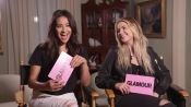 "Pretty Little Liars Stars Shay Mitchell and Ashley Benson Play ""Which Liar?"""
