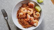 Spicy Pasta with Shrimp and Tomatoes