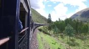 Train Ride Through the Peruvian Andes