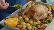 Roast Chicken with Fennel and Olives