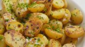 Crispy Salt & Vinegar Potatoes