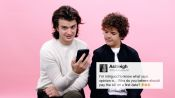 Stranger Things' Gaten Matarazzo and Joe Keery Give Advice to Strangers on the Internet