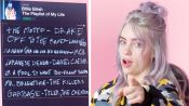 Billie Eilish Creates the Playlist of Her Life