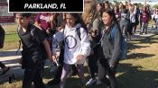 Scenes From the National School Walkout
