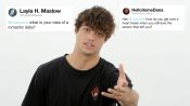Noah Centineo Gives Advice to Strangers on the Internet
