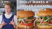 Molly Makes a Grilled Chicken Sandwich