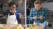 Daniel Boulud Challenges Amateur Cook To Keep Up With Him