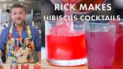 Rick Makes a Hibiscus Cocktail