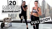 20-Minute HIIT Full Body Bodyweight Workout