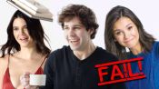 David Dobrik, Kendall Jenner and More Celebs Try 9 Things: Bloopers