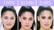 Getting Ariana Grande's Look in 1 Minute, 30 Minutes, and 3 Hours | Beauty Over Time