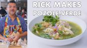 Rick makes Pozole Verde (Mexican Stew)