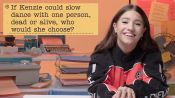 kenzie ziegler Guesses How 2,042 Fans Responded to a Survey About Her