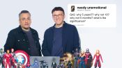 The Russo Brothers Answer Avengers: Endgame Questions From Twitter