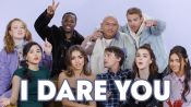 Kiernan Shipka and The Cast of 'Let It Snow' Play I Dare You