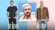 Zac Efron's Bleached Hair Recreated by Professional Stylists