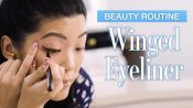 Allure Editor's Winged Eyeliner Tutorial In Real Time (3 Looks)