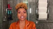 Taraji P. Henson's Guide to Defined Curls and Post-Flight Skin Care