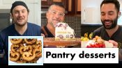 Pro Chefs Make 9 Different Pantry Desserts