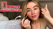 Sabrina Carpenter's 10 Minute Makeup Routine For Natural Light