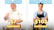 $103 vs $7 Pancakes: Pro Chef & Home Cook Swap Ingredients