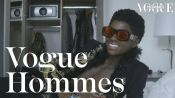 Alton Mason ouvre sa valise Fashion Week avant le show Paco Rabanne | Getting Ready | Vogue Hommes