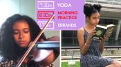 Teen Violinist's Daily Routine 1 Week Before a Show