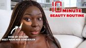 Shalom Blac's 10 Minute Beauty Routine