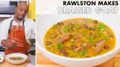 Rawlston Makes Braised Goat