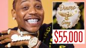 Flipp Dinero Shows Off His Insane Jewelry Collection