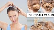 Every Ballet Hairstyle With Pro Ballerina Scout Forsythe | On Pointe