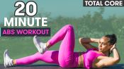 20-Minute Total Abs Workout - No Equipment with Warm-Up