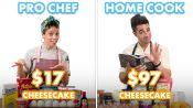 $97 vs $17 Cheesecake: Pro Chef & Home Cook Swap Ingredients